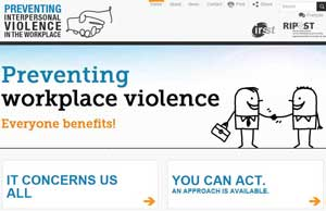 A matter that concerns us all!: Preventing workplace violence
