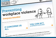 preventing interpersonal violence in the workplace