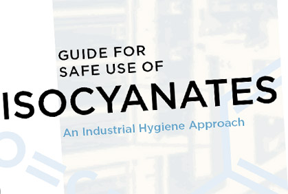 Guide for Safe Use of Isocyanates