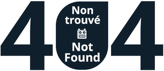 404 - Non trouvé - Not Found