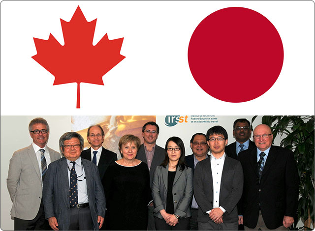 Delegation from the University of Occupational and Environmental Health Japan to Visit