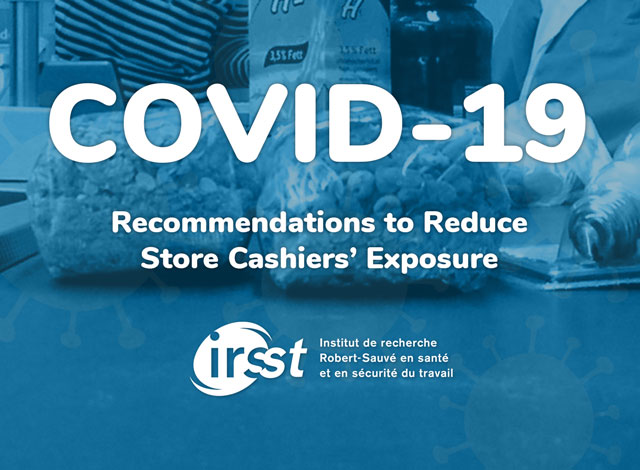 Recommendations to Reduce Store Cashiers' Exposure